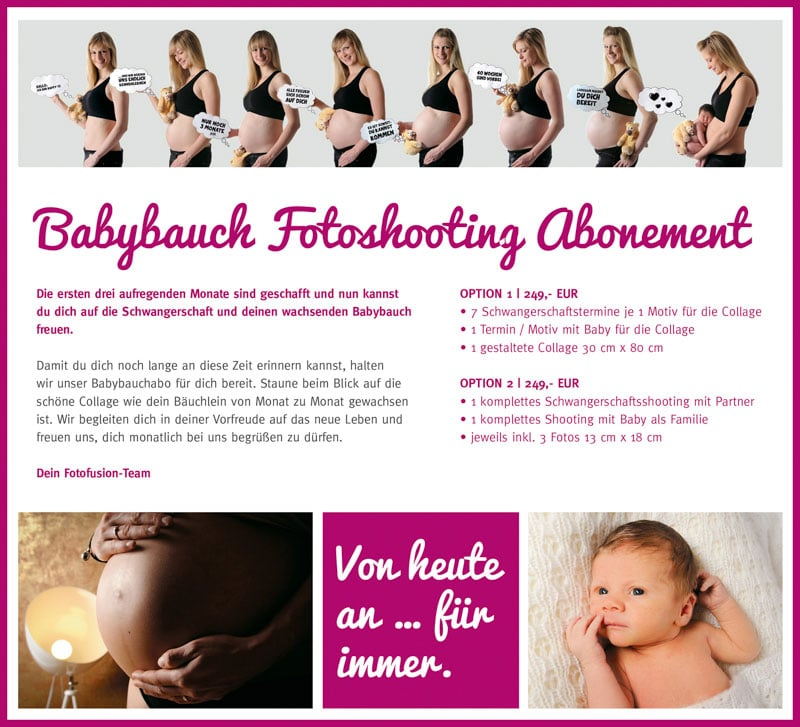 flyer babybauchabo